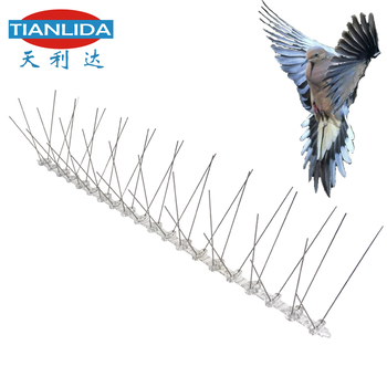 Stainless steel bird spike for pigeon control-chinese supplier
