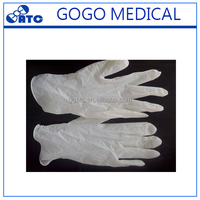 2017 Medical vinyl disposable best supplies checking gloves cheap latex gloves manufacturer
