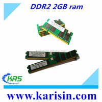 Top selling original brand desktop/laptop ddr 2 ram 2gb in good condition