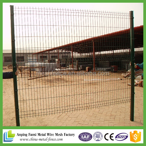 HOT!!! most competitive price & high quality high security 3d wall panel wire mesh