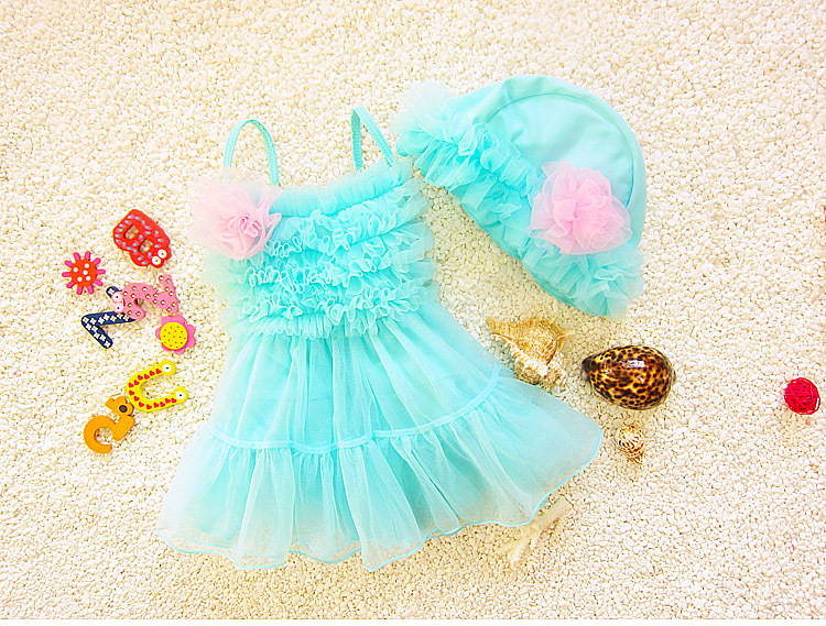 new design kids swimsuit models baby swimsuits with hat