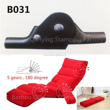 Most common use adjustable sofa bed mechanism articulated hinges B031