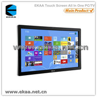 2013 New 55inch touch screen touch screen smart tv pc all in one (4 point touch)