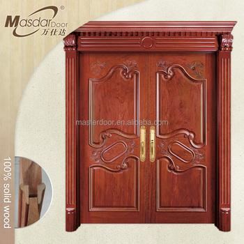 Fancy Teak Wood Main Door Frame Designs