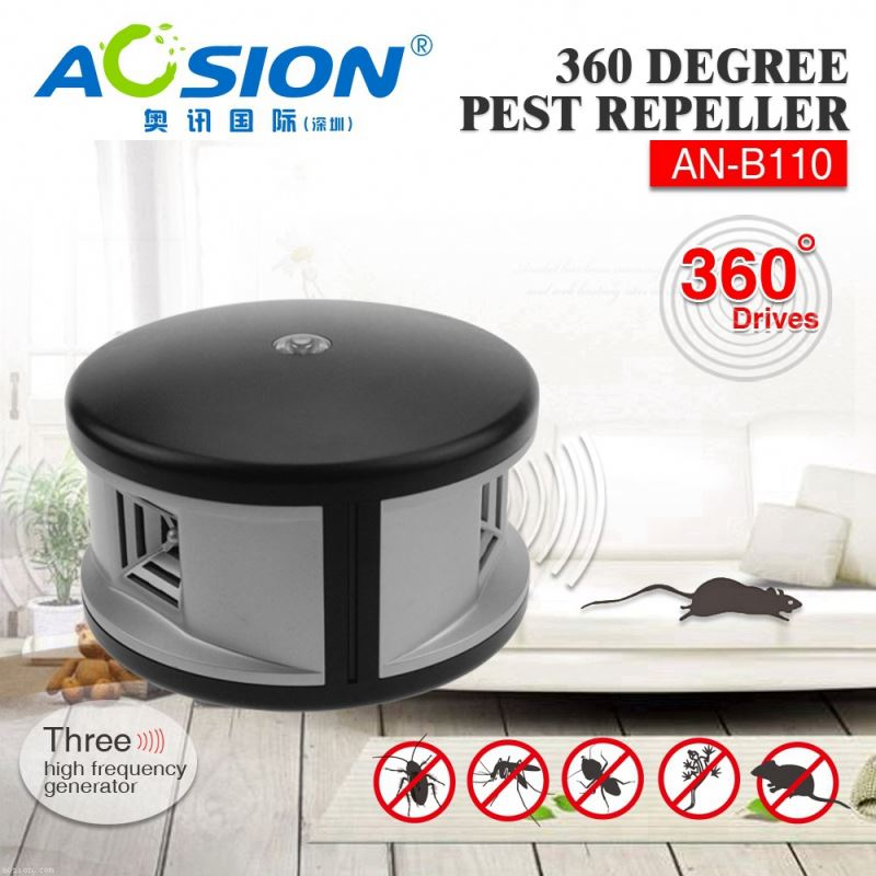 Aosion patent good performance repel mice rat ant bug 360deg insect and rodent repeller