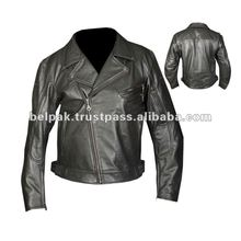 Cruiser-Vintage Motorbike Leather Jackets For Men