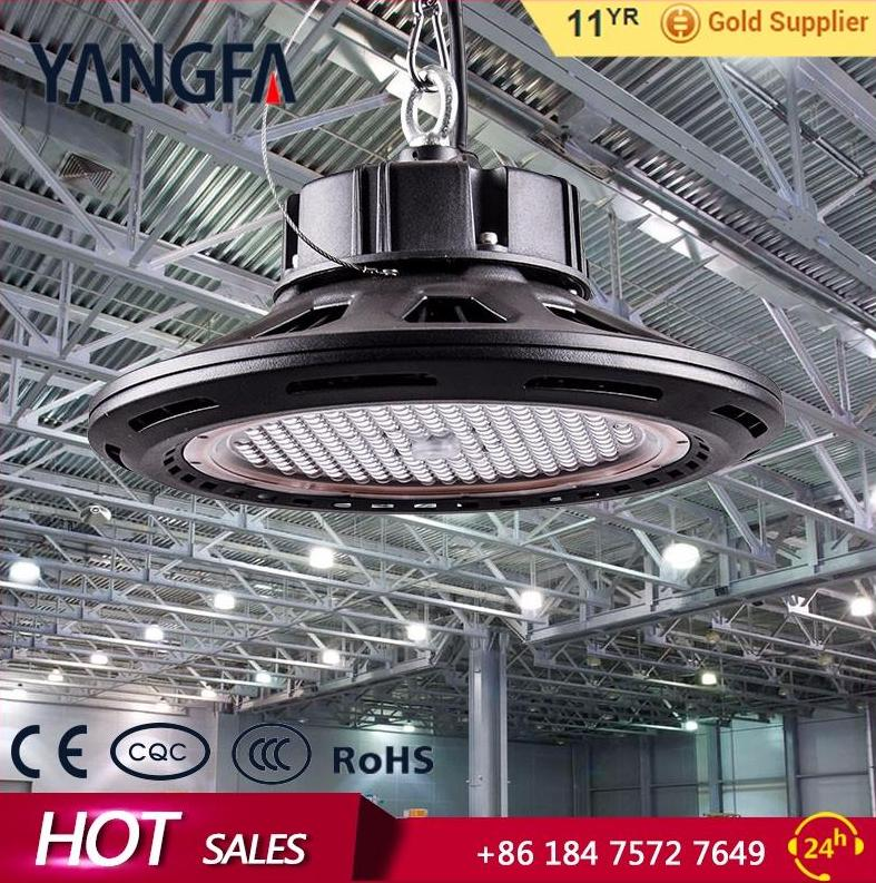 Newest ufo industrial highbay 160w 20000Lm Meanwell Driver High bay lamp Fixture Industrial Factory warehouse lighting