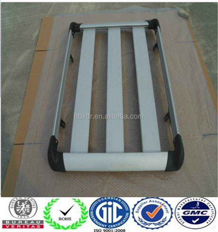 Anodized powder coated sand blasting foot plate aluminum profile