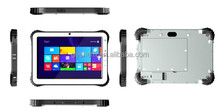 High quality 10 inch Dual OS rugged tablet with 10000 mAh removable battery