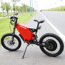 110km/h big power ebike Full suspension electric bike 10000w 72V with Panasonic lithium battery