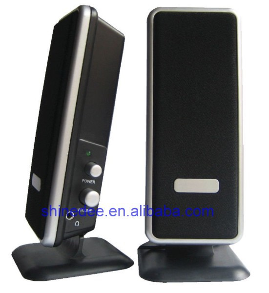 Active multimedia amplified speaker system,plastic sound box(SP-222)