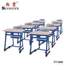 Individual Secondary Student Desks Classroom Furniture Factory Desk And Chair