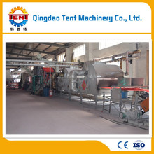 Good performance leather carpet making machine