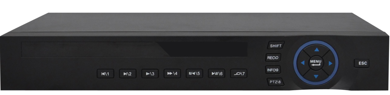 8CH Digital Network Security CCTV H.264 DVR HK-XVR5108F cctv cloud-based dvr