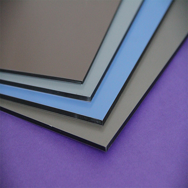20 years warranty 5mm silver mirror acp anti--static acp for building facading decoration