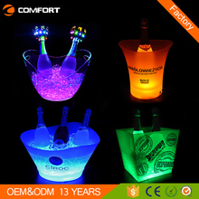 Branded beer wine champagne vodka led cool ice buckets