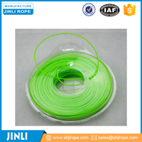 cheap grass round green trimmer nylon line with blister packing
