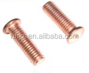 Steel Titanium DIN 32501 Self clinching Standoff Bolts Weld Ssteel copper coated weld standoff studs,weld stud,stud bolt welding