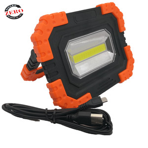 10W COB LED Work Light 750 Lumens Flood Light searchlight waterproof USB brightest handheld spotlight