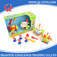 New Products 2014 Preschool Educational Toys Assembled Plastic Toy Plane