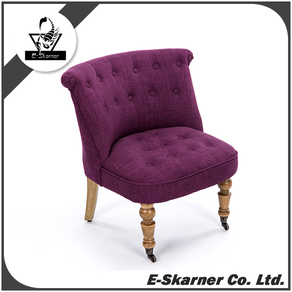 E-Skarner Distinguished Purple Design Fabric Furniture Sofa
