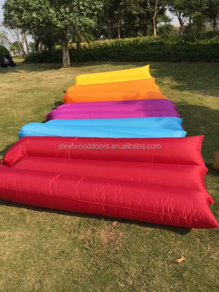 Outside Beach Air Sofa Bag,OEM Logo Inflatable Air Sofa Bed Inflatable Banana for <strong>Travel</strong>