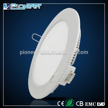 High Bright 18W Round Led Flat Panel Light Ultra-thin Recessed Ceiling Panel Down light for Hotel,Kitchen Cabinet