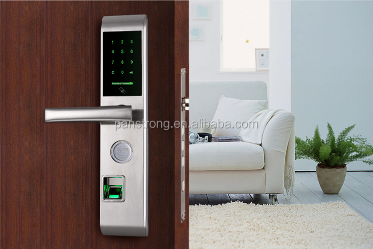 Electronic Password keyless Digital Code Security Entrance Home Office Finger Print Door Lock