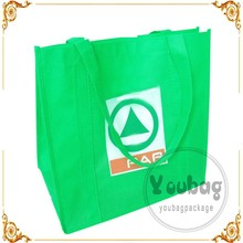 Square bottom gusseted bags,Design your own plastic bag,laminated non woven reusable bag shanghai