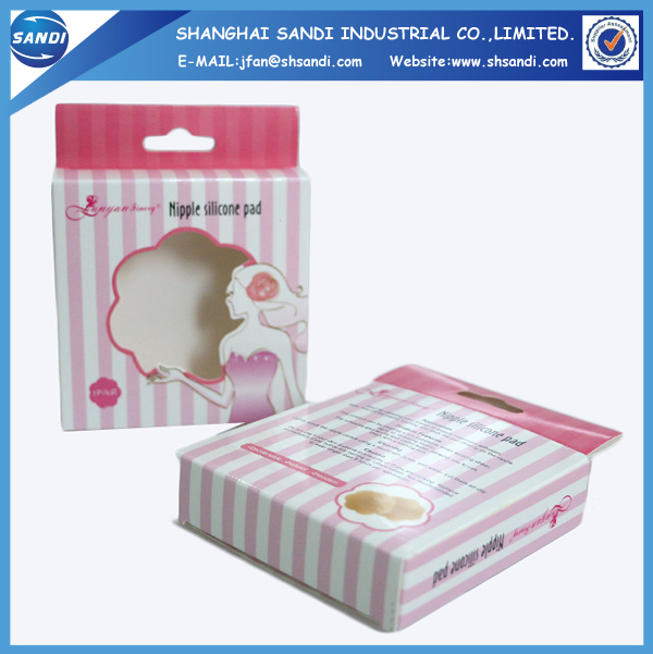 Cosmetic folding custom packing paper box