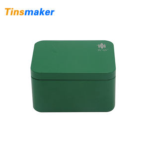 Wholesale custom small rectangular vintage tin box for packaging