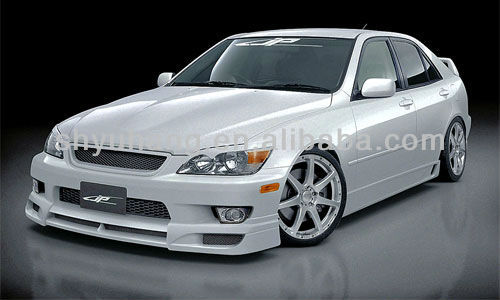 Lexus IS200 Japan Product Carbon Fiber Front Bumper Lip