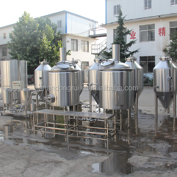 300L Restaurant beer brewing equipment Keg washer Beer plant for sale