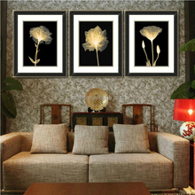 Customized flower wall decorative fotos photo picture frame
