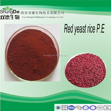 Organic anka extract powder/red kojic rice P.E of Lovastatin