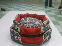 lovely cute dog/cat bed for sale national flap pattern /circle cat house