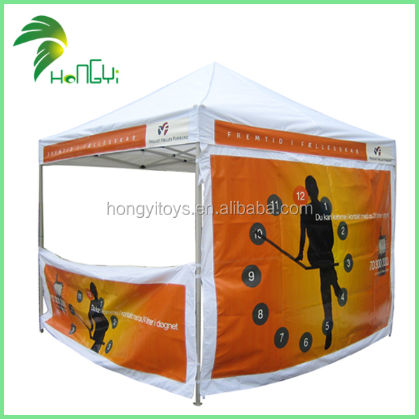 Custom Folding Tent Marquee Gazebo Canopy/ Hot Sale Outdoor Silk Screen Printing Advertising Folding Tent