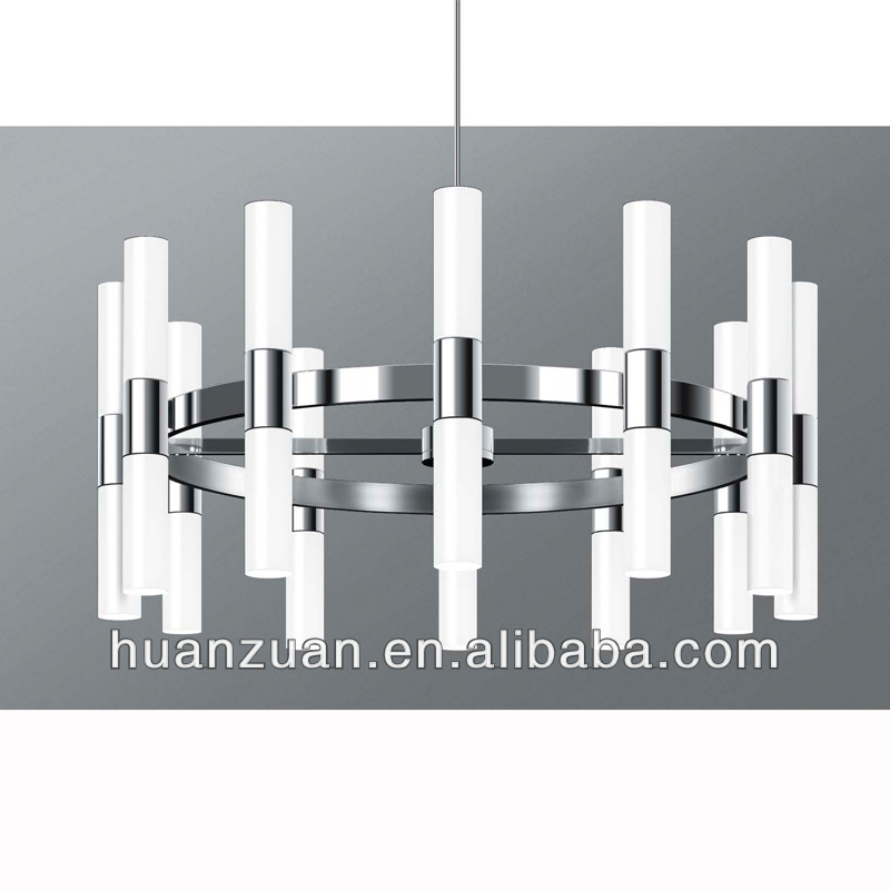 latest designed big indoor acrylic pendant chandelier light
