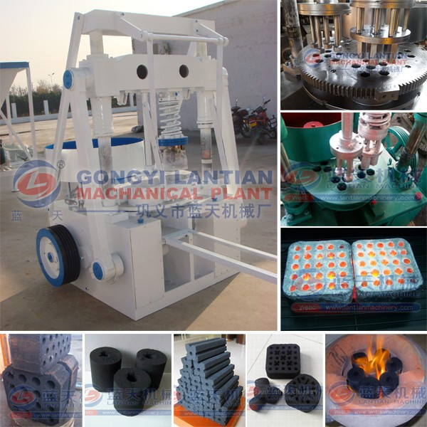Widely Used Charcoal Briquette Processing Machine