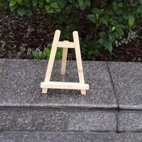 Small Wooden Easel - Display Painting - Craft Decorate Gift - Wedding