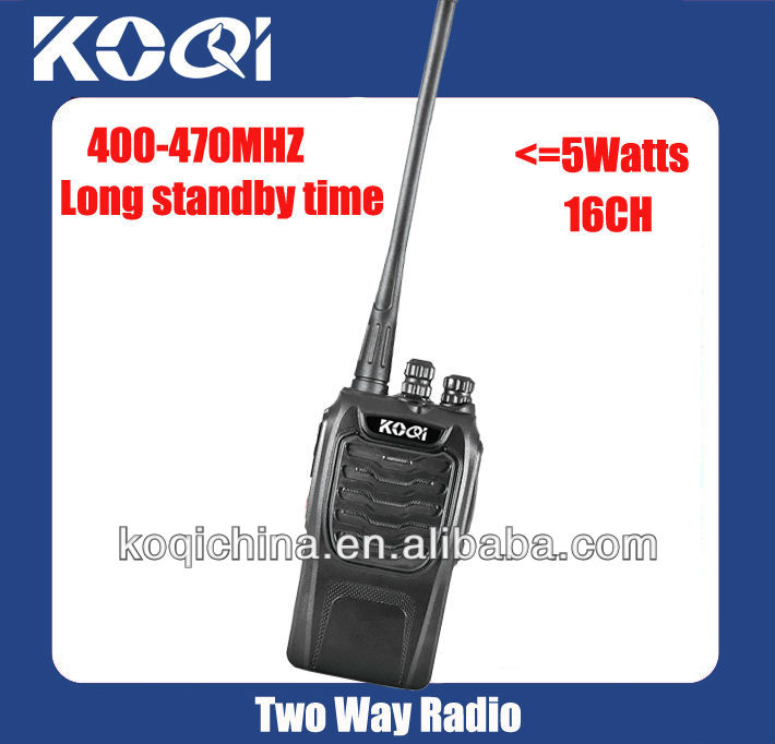 Long Range Walkie Talkie KQ-328 with 5 watts output power