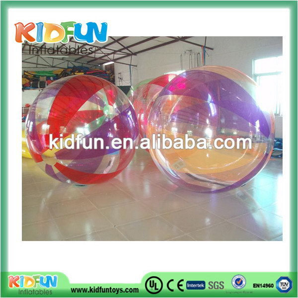 New style new products two handles pvc water ball/full color water balls/water walking ball factory