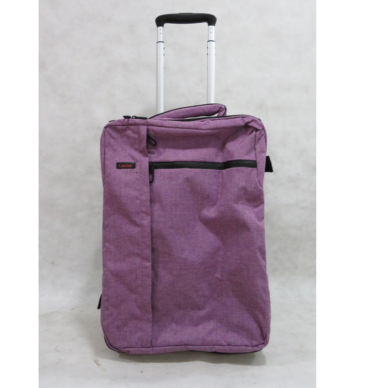 Foldable fabric luggage chinese trolley bags best trolley suitcase