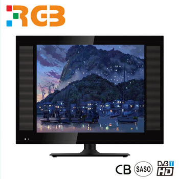 wholesale 15 /17/19 inch lcd tv with LEDBACKLIGHT DC 12V tv led with B grade panel China manufacture