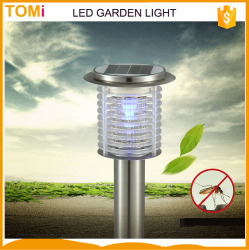 mosquito killer led garden lamps Solar led street light NO need installed wire,Solar supply power No need electrical