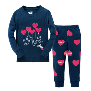 lastest design kids cotton pajamas children clothes sets