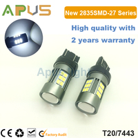 New wholesale 2835SMD Constant Current T20 7440 7443 led car bulb
