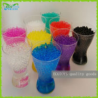 Wholesale Crystal Soil Water Growing beads Decorative Orbeez Ball Pearls