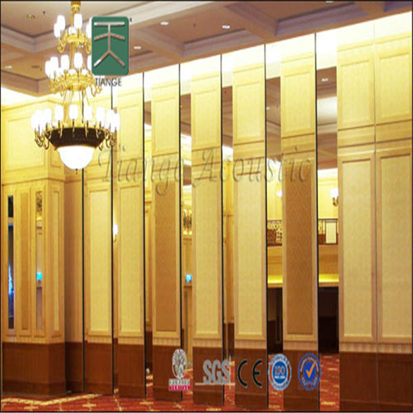 Conference sliding folding decorative hanging room divider Decorative hanging room dividers