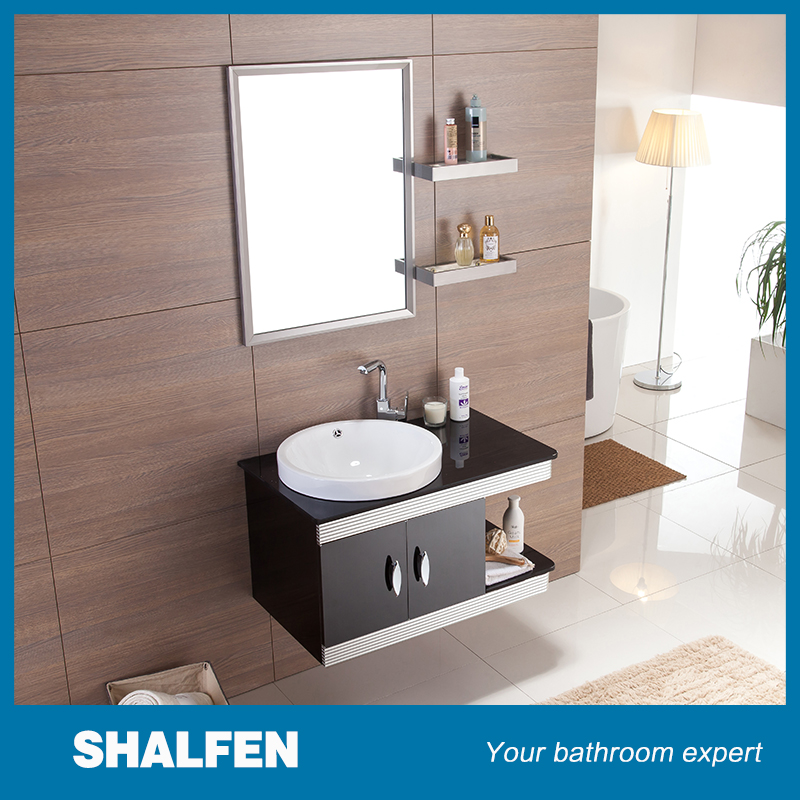 Simble bathroom cabinet stainless steel bathroom cabinet vanity bathroom wall cabinets